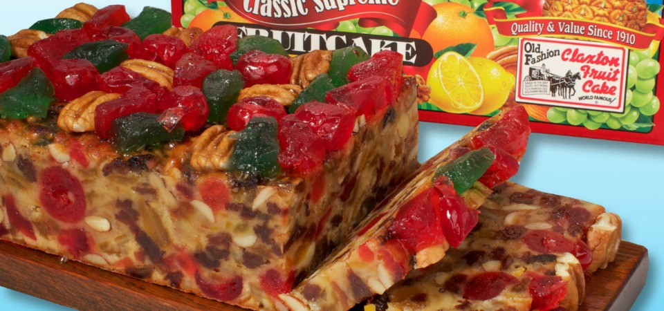 fruit girl claxton fruit cake
